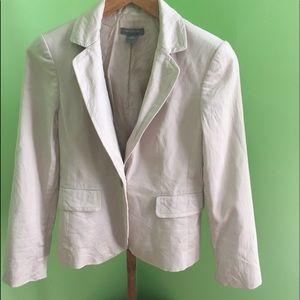Ann Taylor size 4 petite Dress Jacket in Cream